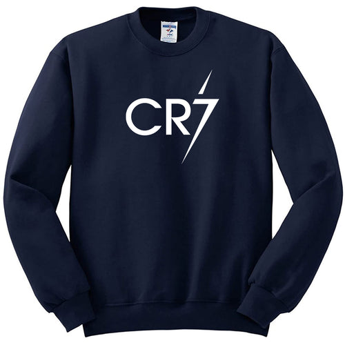 CR7 Sweatshirt In Blue Color