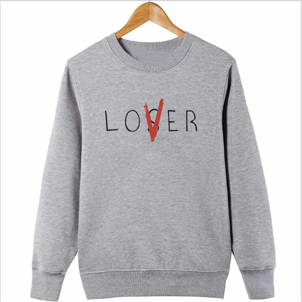 LOSER LOVER Sweatshirt-Splash Colours