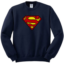 Load image into Gallery viewer, SUPERMAN Sweatshirt In Blue Color