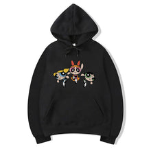 Load image into Gallery viewer, Power Puff Girls Hoodie For Women-Cotton-Splash Colours
