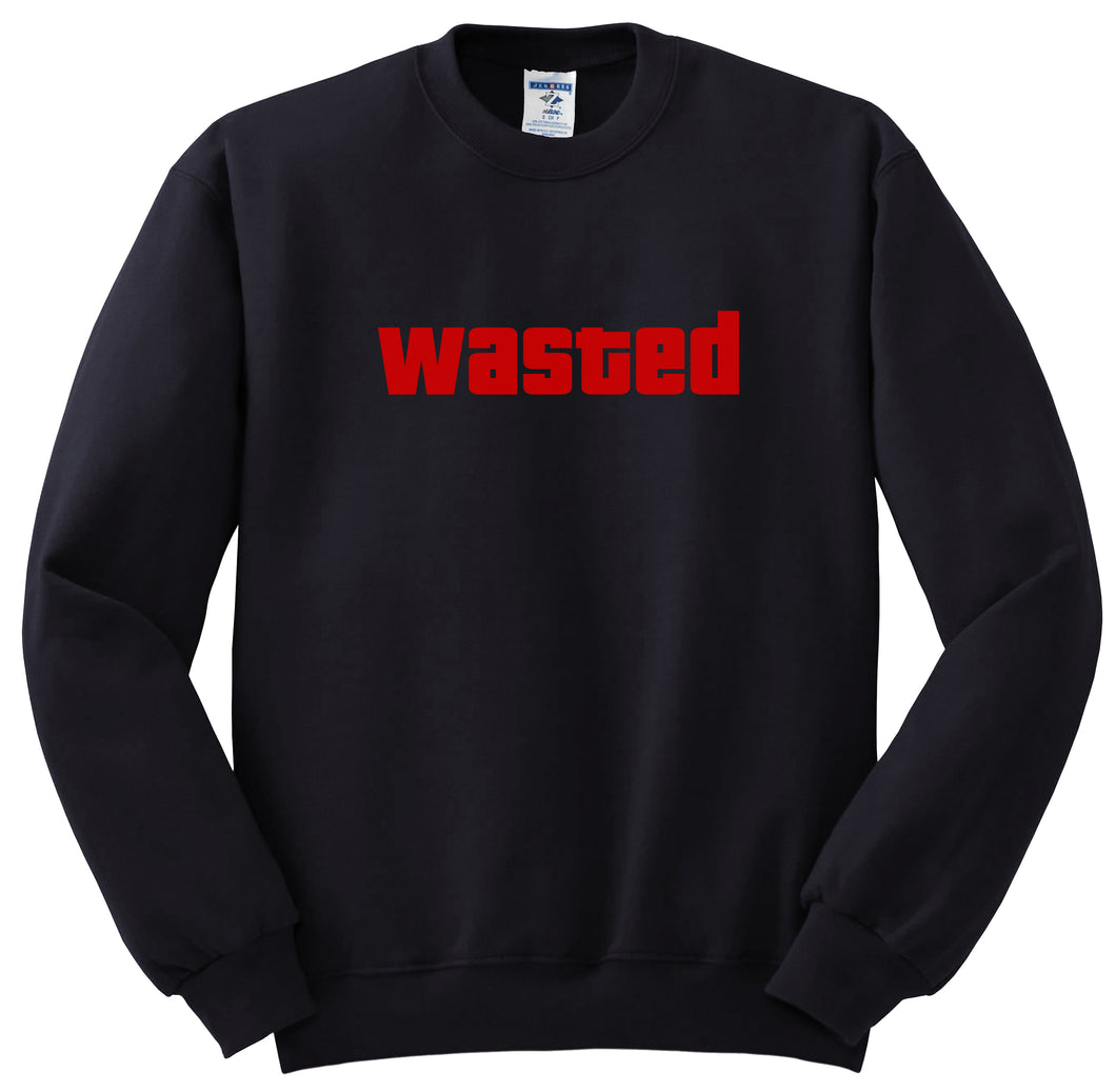 WASTED Sweatshirt In Black Color