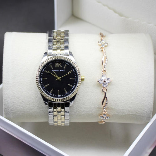 Michael Kors Black Dial Modern Style Ladies Wrist Watch