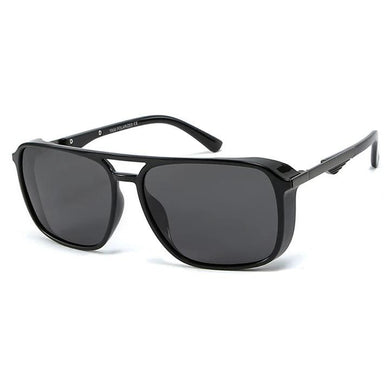 Police Matte Black Aviator Sunglasses