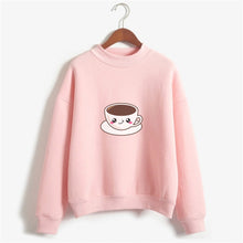 Load image into Gallery viewer, Cup Of Tea Sweat Shirt For Women-Splash Colours