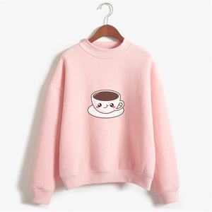 Cup Of Tea Sweat Shirt For Women-Splash Colours