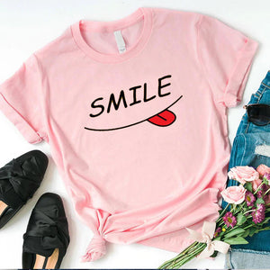 Smile T-Shirt For Girls