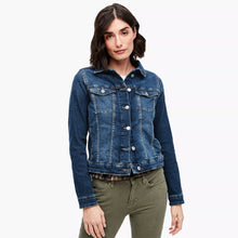 Load image into Gallery viewer, Slim Fit Denim Jacket For Women