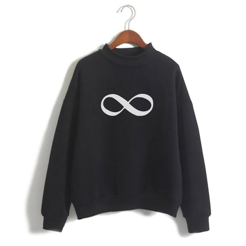 Infinity Sign Sweat Shirt For Women