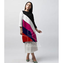 Load image into Gallery viewer, Casual 2 Piece Panel Shirt With Trouser For Women-Splash Colours