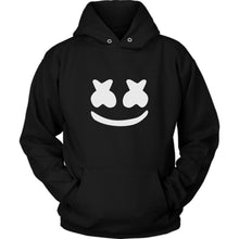Load image into Gallery viewer, Marshmello Black Hoodie Unisex