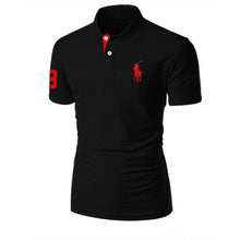 Load image into Gallery viewer, Black Polo Shirt For Men