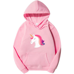 Special Unicorn Hoodie For Women-Splash Colours