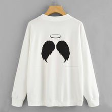 Load image into Gallery viewer, Angel Wings Sweat Shirt For Women-Splash Colours