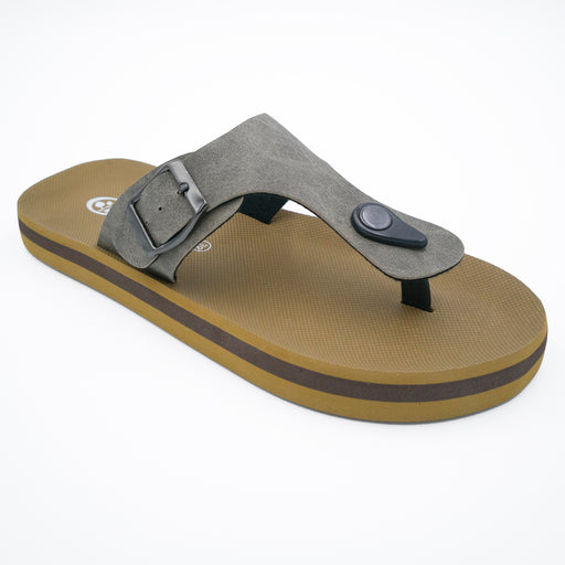 'New Espresso', Flips Pods Sandals in T-strap design