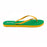 'Brazil', rubber flip-flops in slim strap design