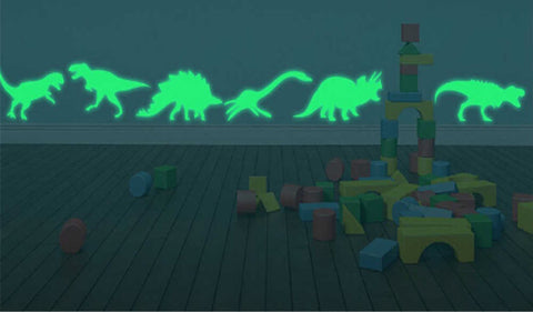 glow in the dark dinosaurs for ceiling