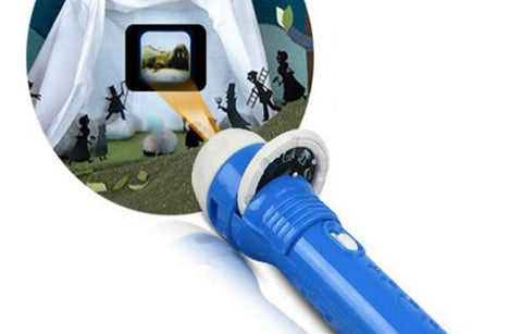 Projector torch for kids