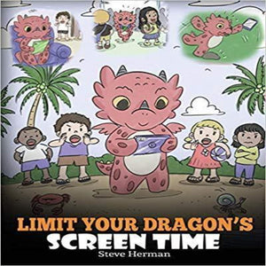 story books for kids about screen time