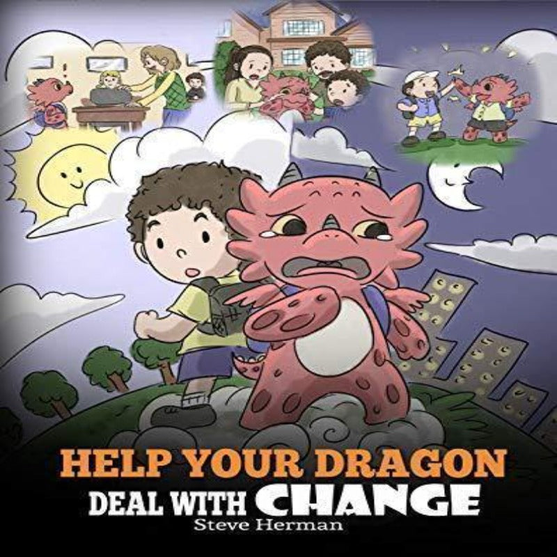 story books for kids to deal with change