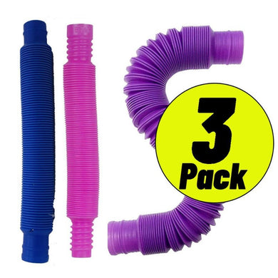popping tube fidget 3 pack