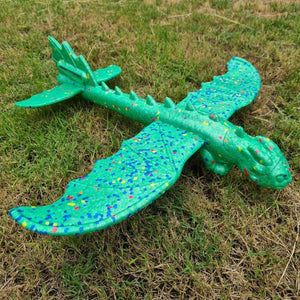 foam glider dragon plane