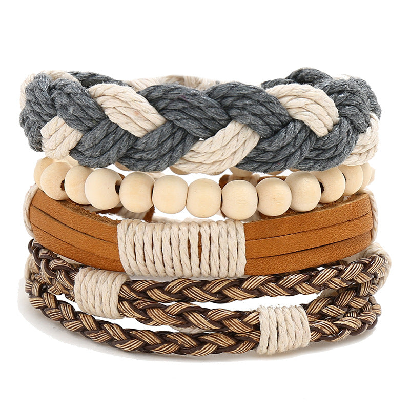 Multi-layer Leather Bracelets