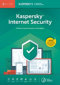 Kaspersky Internet Security - Licencia Base ESD - 3 Dispositivos