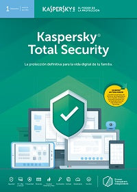 Kaspersky Total Security - Licencia Base ESD - 1 Dispositivo