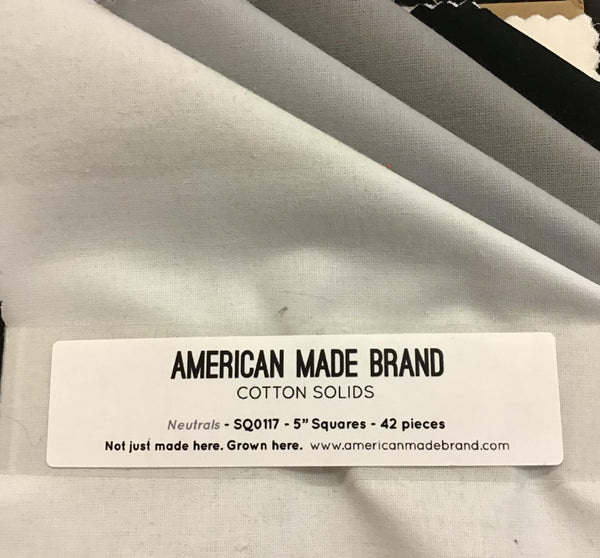 American Made Brand 42 pc Charm Squares 100515