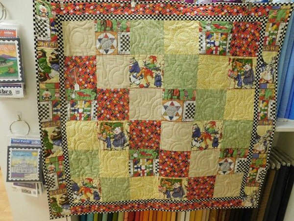 Gift 67 Kids Bargello Quilt 42x45 105887