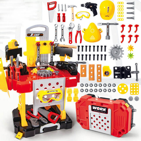 Children's repair kit educational toys set