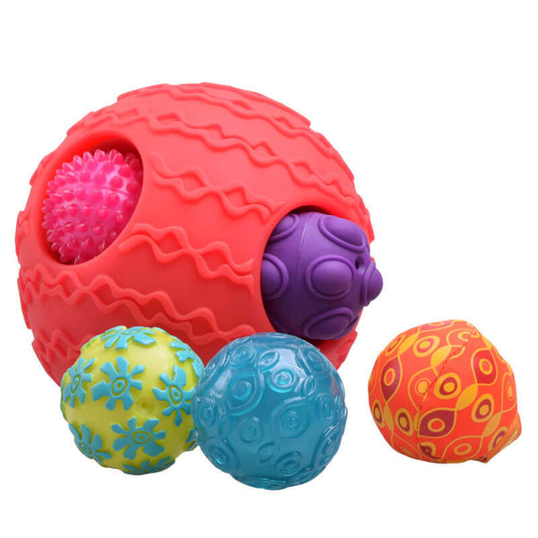 Toddler soft crawling touch ball
