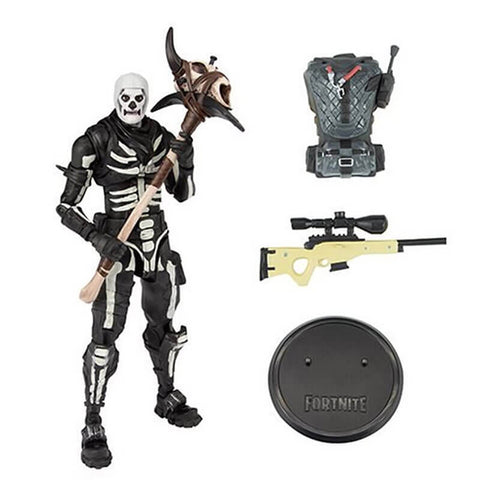 Fortnite Skull Advanced Action Figure, Multicolor, Modern, 7 inches, Multicolor