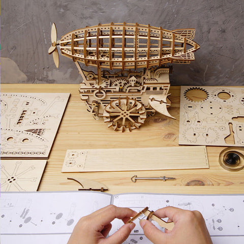3D Wooden Puzzle Crafts