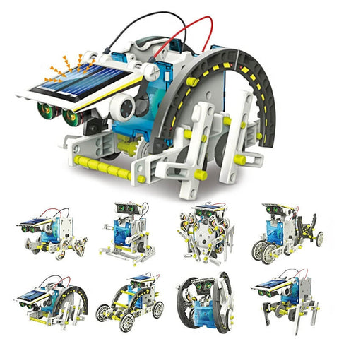 STEM solar mechanical Robot Toys