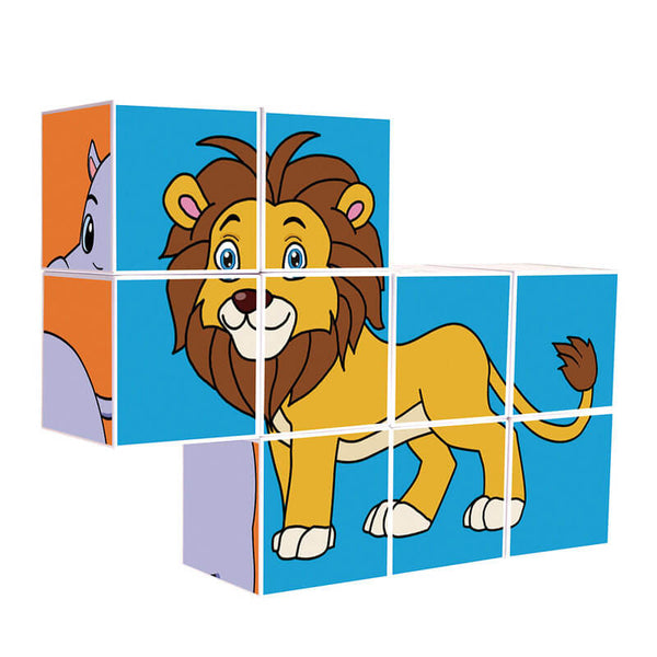 Animal magnetic puzzle