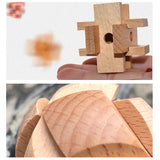 3D Wooden Puzzle Educational Toy