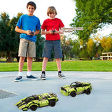 Modular splicing remote control racing car