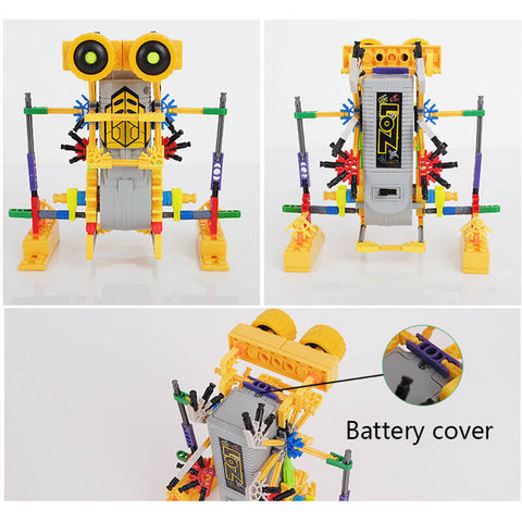 LOZ Motorial Alien Robot Robotic DIY Building Set Block Toy