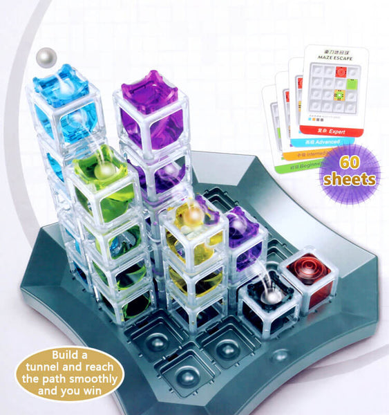 ThinkFun Gravity Maze Marble Run Logic Game and STEM Toy