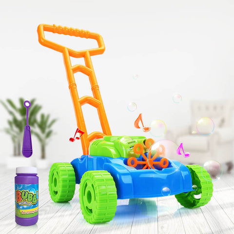 Kids Bubble Blower Machine Lawn outdoor toys