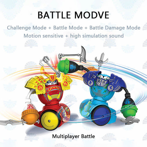 Electric Remote Control Fighting Boxing Battle Robot 2pcs