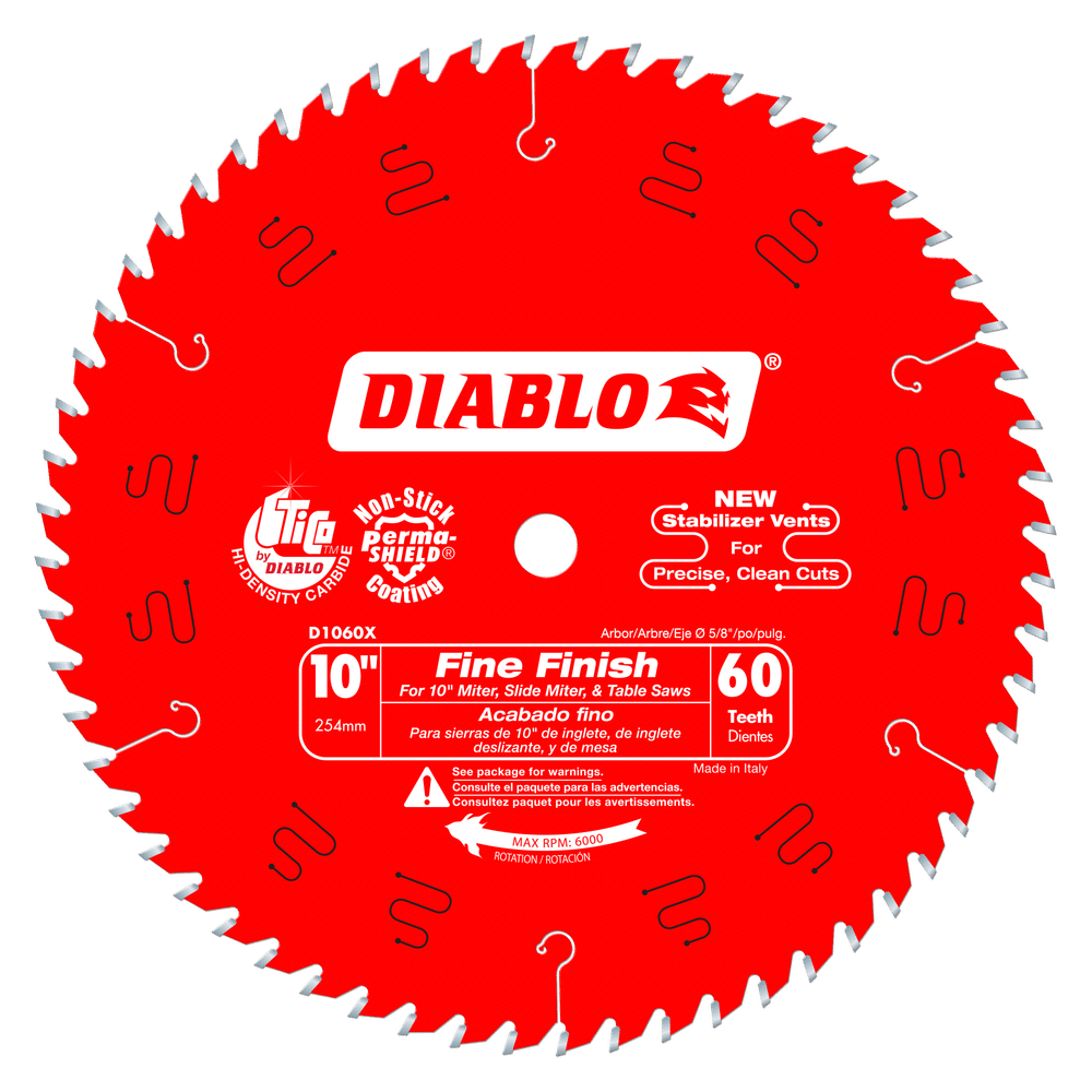 Part Number D1060X - Diameter (In.) 10