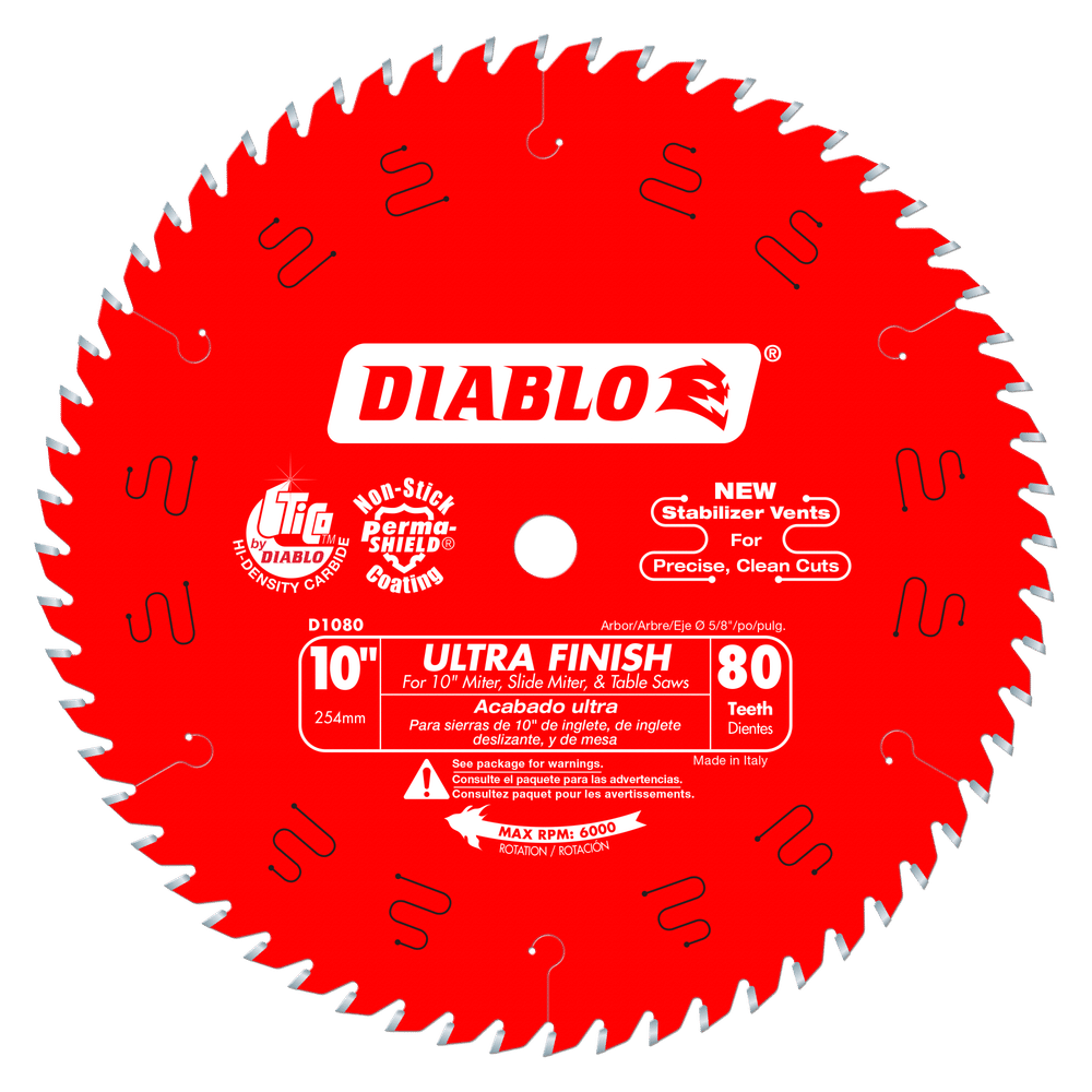 Part Number D1080X - Diameter (In.) 10