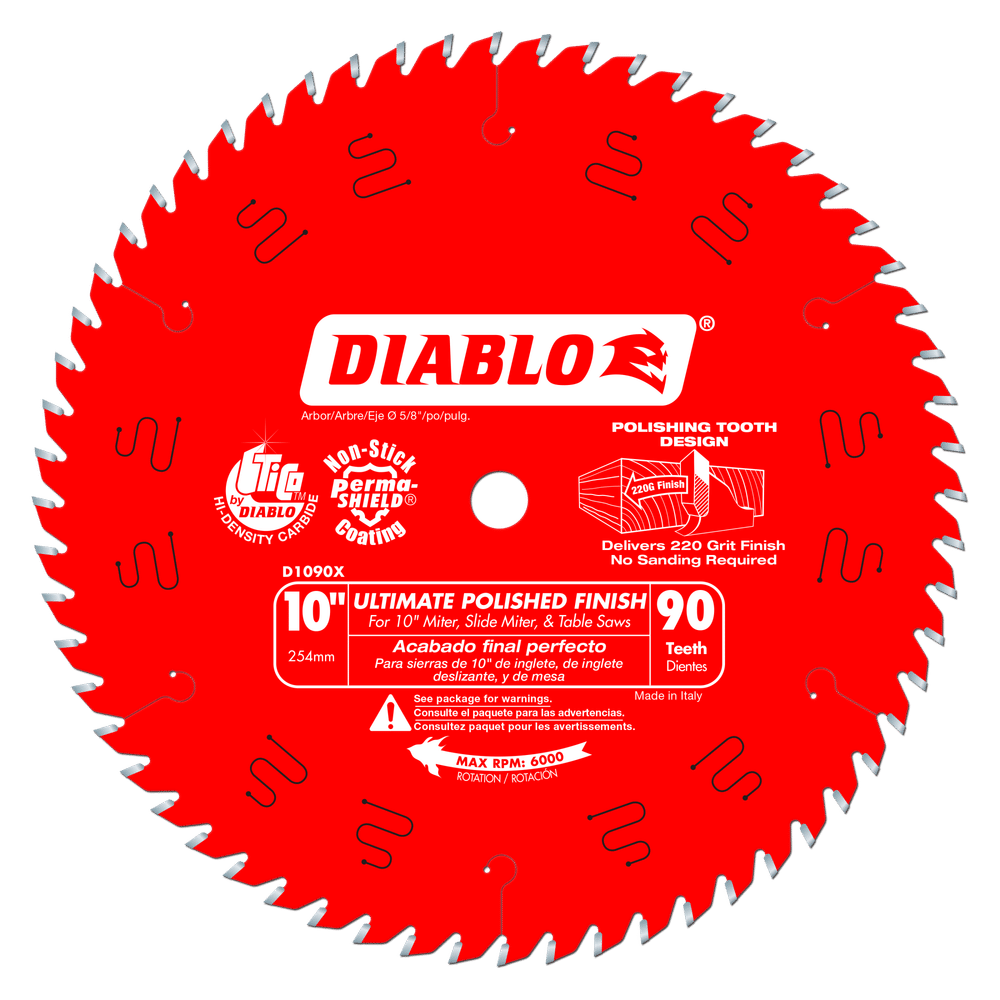 Part Number D1090X - Diameter (In.) 10