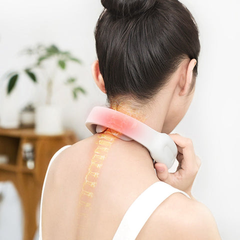 neck muscle pain relief at home