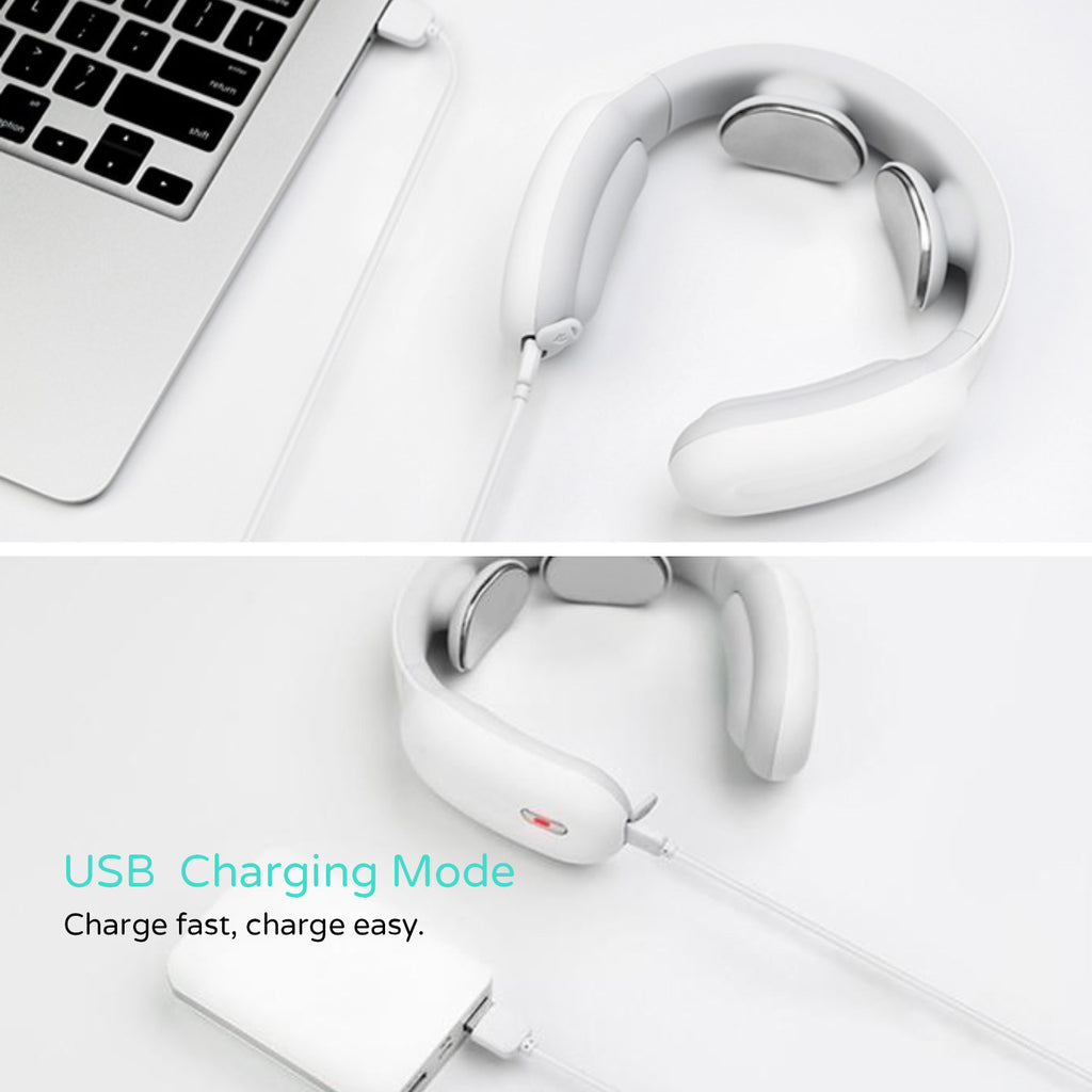 USB Charging Mode of Neck Massager