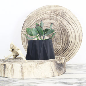 Matte Black Planter ° AZUR °