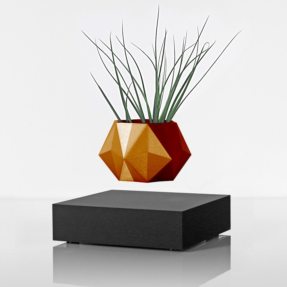 LEVITATING PLANTER - BLACK / COPPER