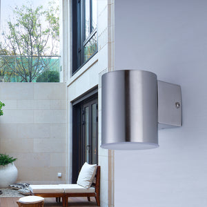 Applique Led Malibu inox 230V